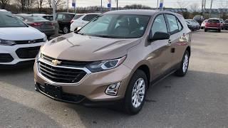 Copper 2018 Chevrolet Equinox LS Review Oshawa ON - Roy Nichols Motors Ltd