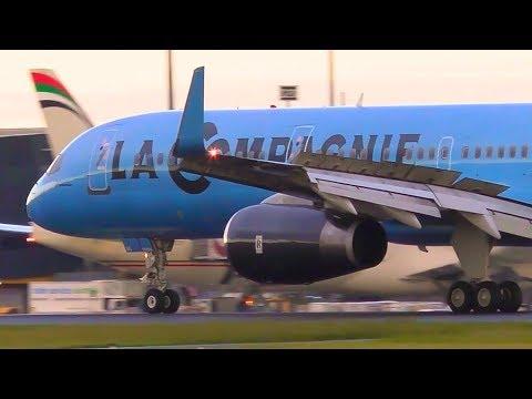 RARE La Compagnie Boeing 757 Landing | F-HTAG | Melbourne Airport Plane Spotting