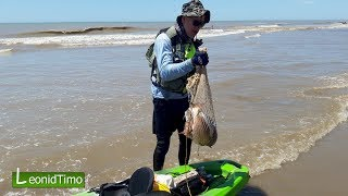 Морская Рыбалка на Каяке. Удачный улов (25.12.18)