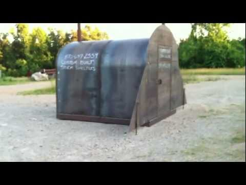 This Is Strongest Steel Tornado Shelter I've Ever Seen
