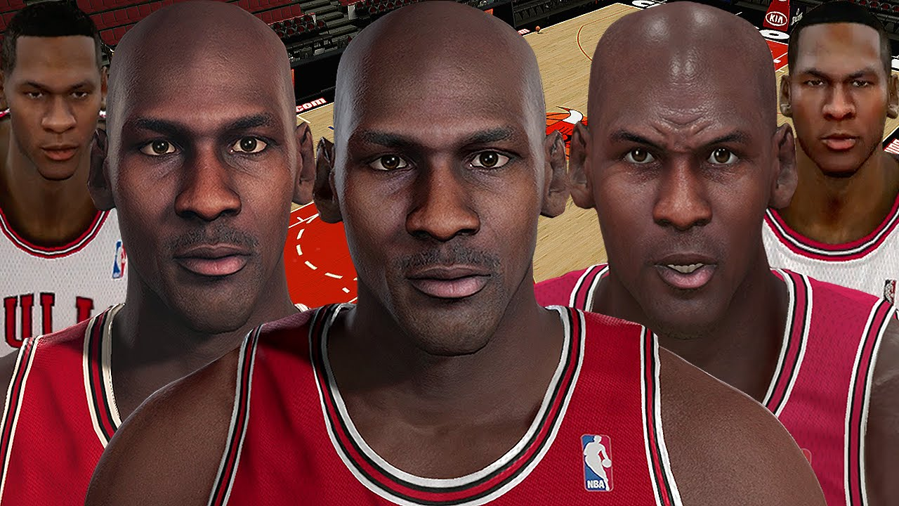 lower price with 8ac5a 15072 Michael Jordan From NBA 2K2 to NBA 2K16 - YouTube