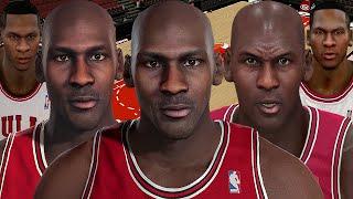 Michael Jordan From NBA 2K2 to NBA 2K16