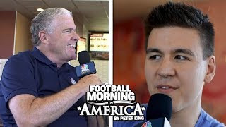 Jeopardy champion James Holzhauer sits down with Peter King (FULL INTERVIEW) | NBC Sports