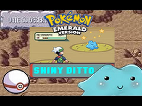 how to catch shiny pokemon in emerald