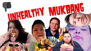 MOST UNHEALTHY MUKBANGERS ON YOUTUBE, Compilation