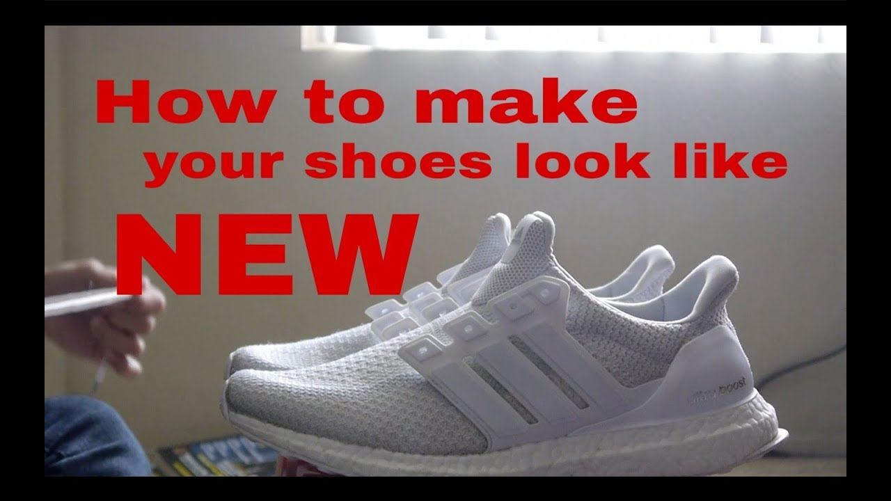 [Tutorial]  Cách làm giày trắng như mới mua !!!!!
