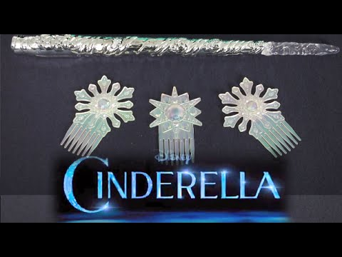 cinderella fairy godmother wand and combs from jakks