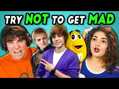 COLLEGE KIDS REACT TO TRY NOT TO GET MAD CHALLENGE #2