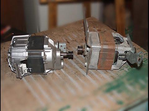 Подключение и регулировка оборотов двигателя от стиральной машины