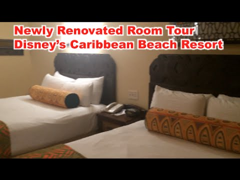 Renovated Room Tour Caribbean Beach Resort