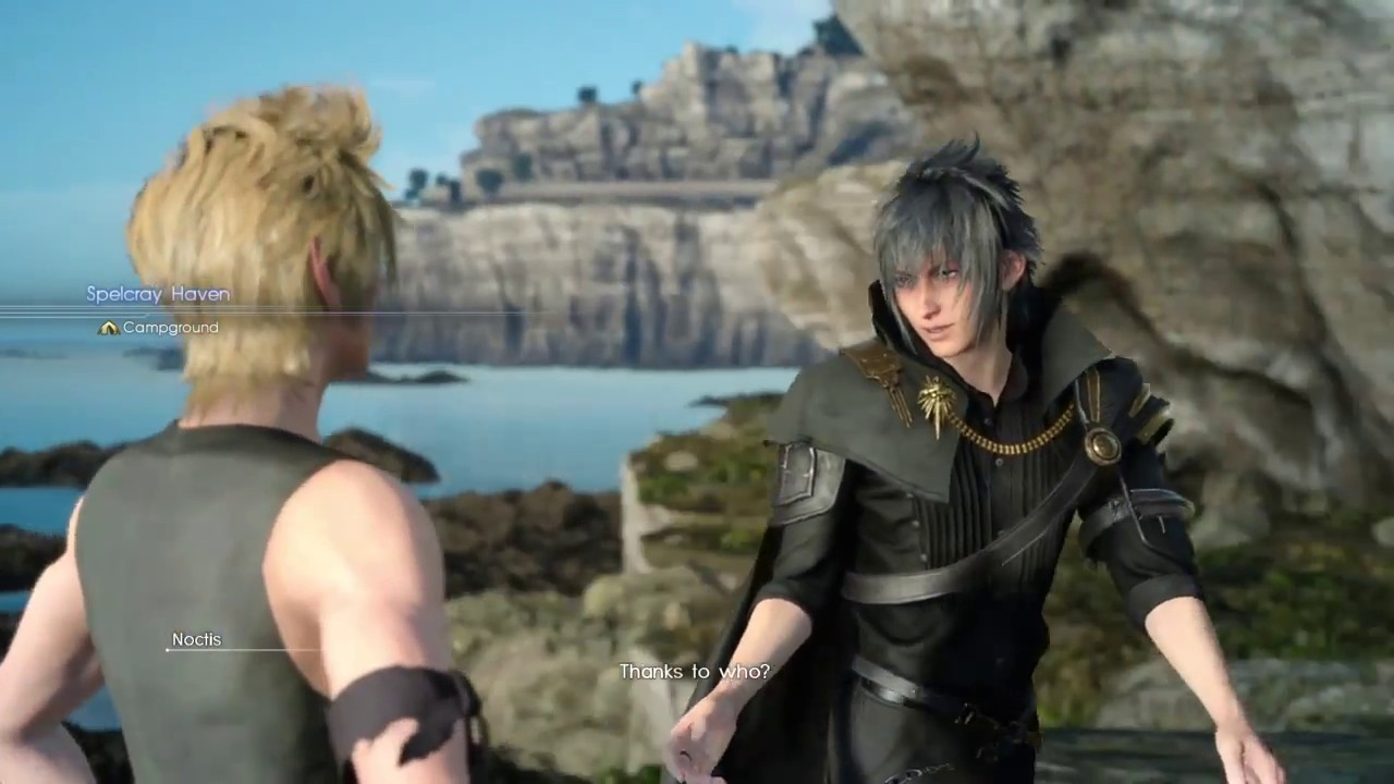 Final Fantasy Xv Ps4 Prompto Side Quests In Kingsglaive Outfits