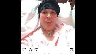 فيفي عبده تطلب الدعاء من جمهورها قبل اجرائها عملية جراحية