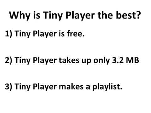 Tiny Player is the best music & mp3 playing app for macOS