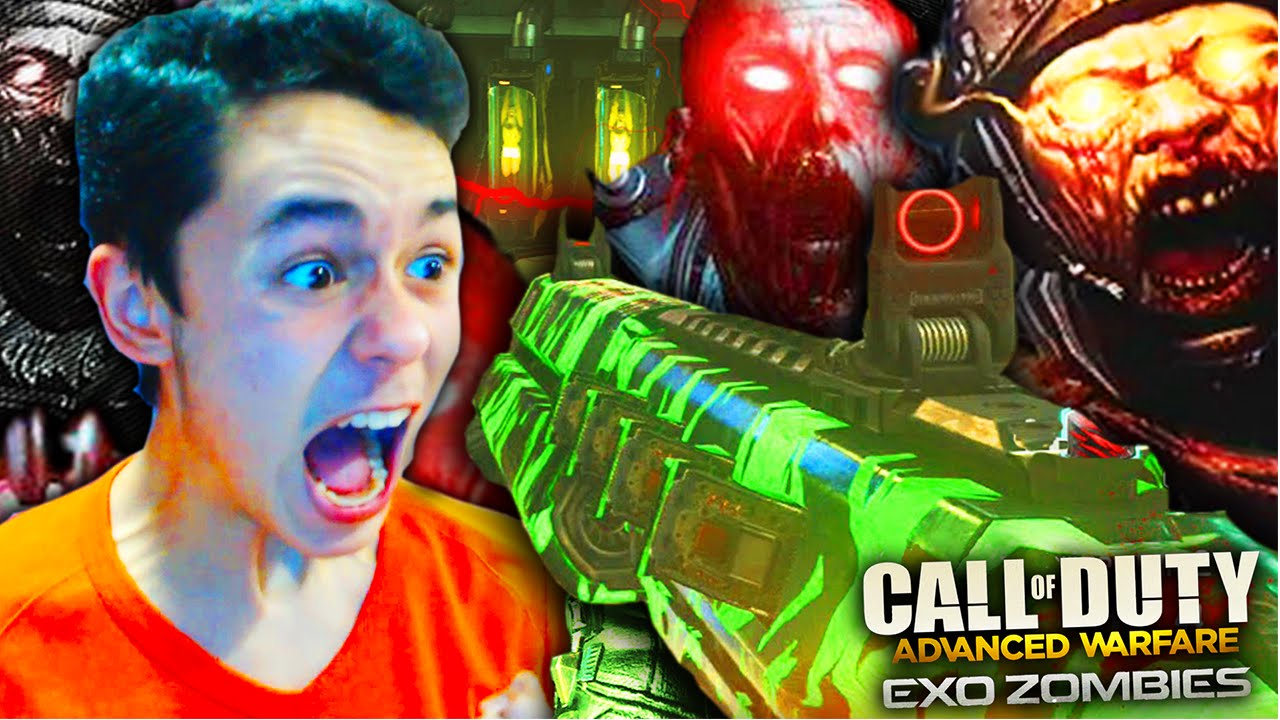 Advanced Warfare Exo Zombies Gameplay Call Of Duty Advanced Warfare Dlc Havoc Outbreak Youtube