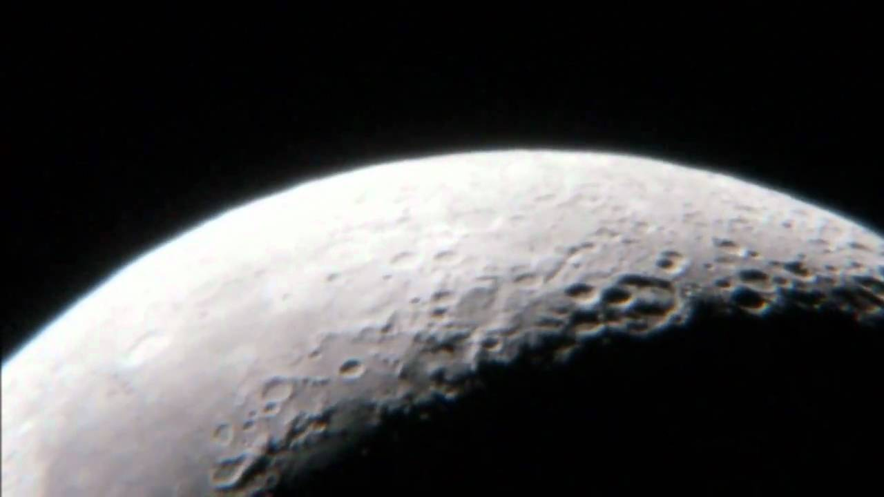 The moon video hd up close celestron slt youtube