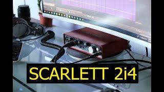 SCARLETT 2i4 - ¿La mejor interfaz para producción? - Mi experiencia
