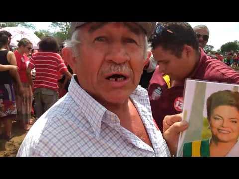 Confira Os Bastidores Da Visita De Lula E Dilma, A Monteiro