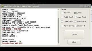 oppo f9 network unlock code free