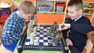 Обучение игре в шахматы в детском саду
