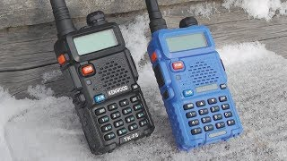 Про радиостанции Baofeng UV5R 5W / 8W и