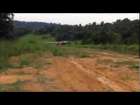 #4 - Aviação de Garimpo: Pouso Curto - Cessna 182 ( Cmte. Eduardo Lima )