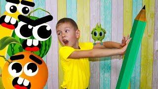 Хелпик нашел ВОЛШЕБНЫЙ КАРАНДАШ для Ромы magic pencil cartoon for kids Для детей Рома и Хелпик