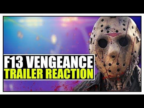 Friday the 13th Vengeance   Trailer REACTION!