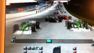 Horror Unfall bei Racing Simulation 3