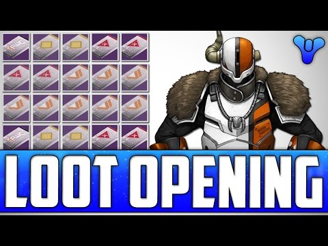 Destiny: Opening 20 Vendor Packages! Vanguard, Crucible, New Monarchy & More!