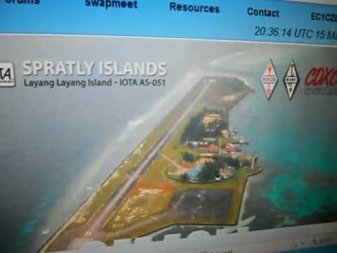9M4SLL-Layang Layang Island-SPRATLY Islands-20:46 utc-15-Mar-2013 - 20 meters band -dx´pedition