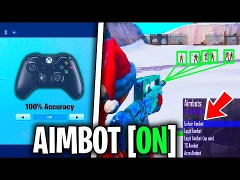 AIMBOT LIKE ACCURACY FORTNITE SEASON 7! XBOX/PS4 CONTROLLER (BEST SENSITIVITY & BEST SETTINGS) TIPS!
