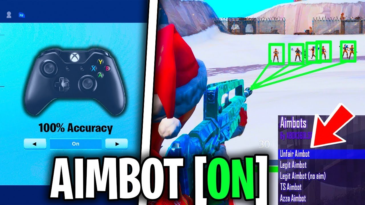 AIMBOT LIKE ACCURACY FORTNITE SEASON 7! XBOX/PS4 CONTROLLER (BEST  SENSITIVITY & BEST SETTINGS) TIPS!