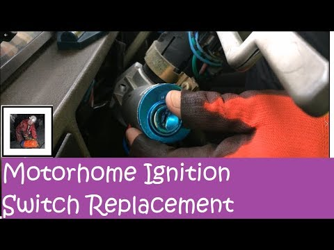 Replacing the Ignition Switch on the Motorhome