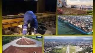 Desburocratização e investimentos: Avanços em portos, aeroportos, ferrovias e rodovias. Descrição ⬇️