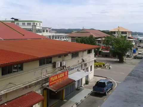 Kudat City in Sabah, Malaysia