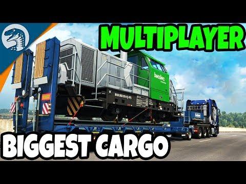 BIGGEST & HEAVIEST CARGO EVER | Euro Truck Simulator 2 Multiplayer Gameplay