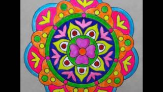 Diwali Rangoli designs-OHP sheet