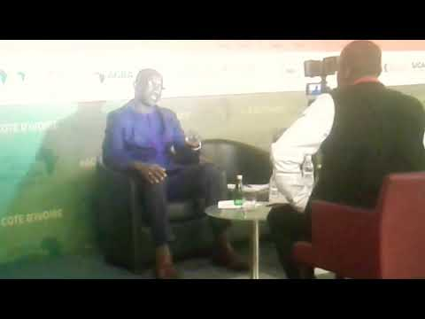 Inside Business 24 InterviewAGRF Regiional West Africa Director Mr Fadel Ndiame