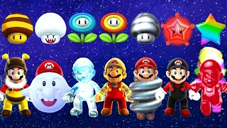 Super Mario Galaxy HD - All Power-Ups