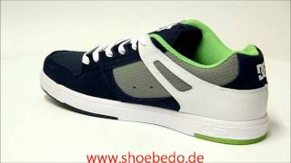 low priced 15a12 ce3db DC Shoes Sneaker Spartan Lite Navy White 303208