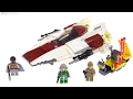 LEGO Star Wars 2017 A-Wing Starfighter review! 75175