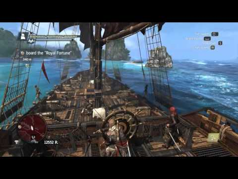 Lets play AC4 Black Flag Walkthrough Part 31 (Board the Royal Fortune)