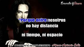 Mi eterno amor secreto Marco Antonio Solis Karaoke