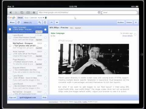 Free iPad & iPhone emulator for PC and Mac (email preview tool)