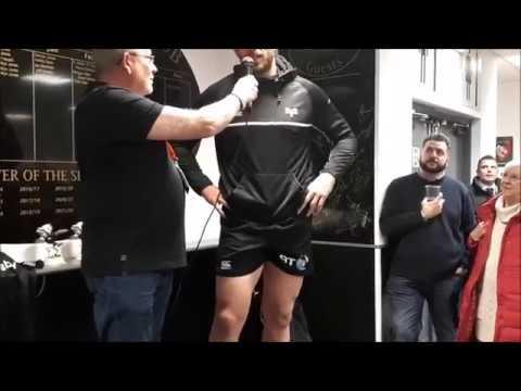 Ospreys Supporters Club interview Alun Wyn Jones