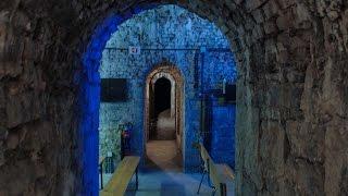 Visite des sousterrains de la ville de Tournai.