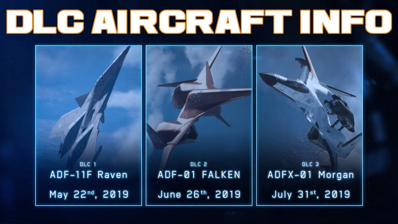 Ace Combat 7: DLC/Season Pass Info - Aircraft Trailer Analysis