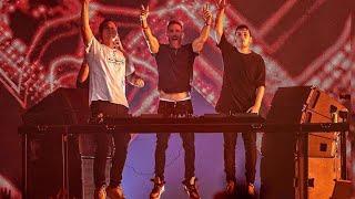 Martin Garrix B2B David Guetta B2B Tiesto At @ ADE 2019