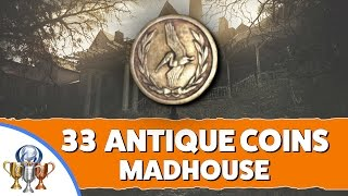 Resident Evil 7 Madhouse - All 33 Antique Coin Locations on Madhouse Difficulty (Mad Pelicans)
