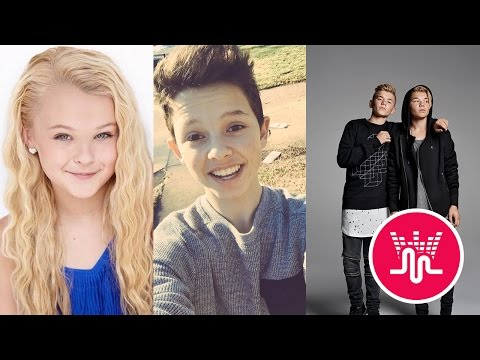 Jojo Siwa VS. Jacob Sartorius VS. Marcus and Martinus Musical.ly New 2017